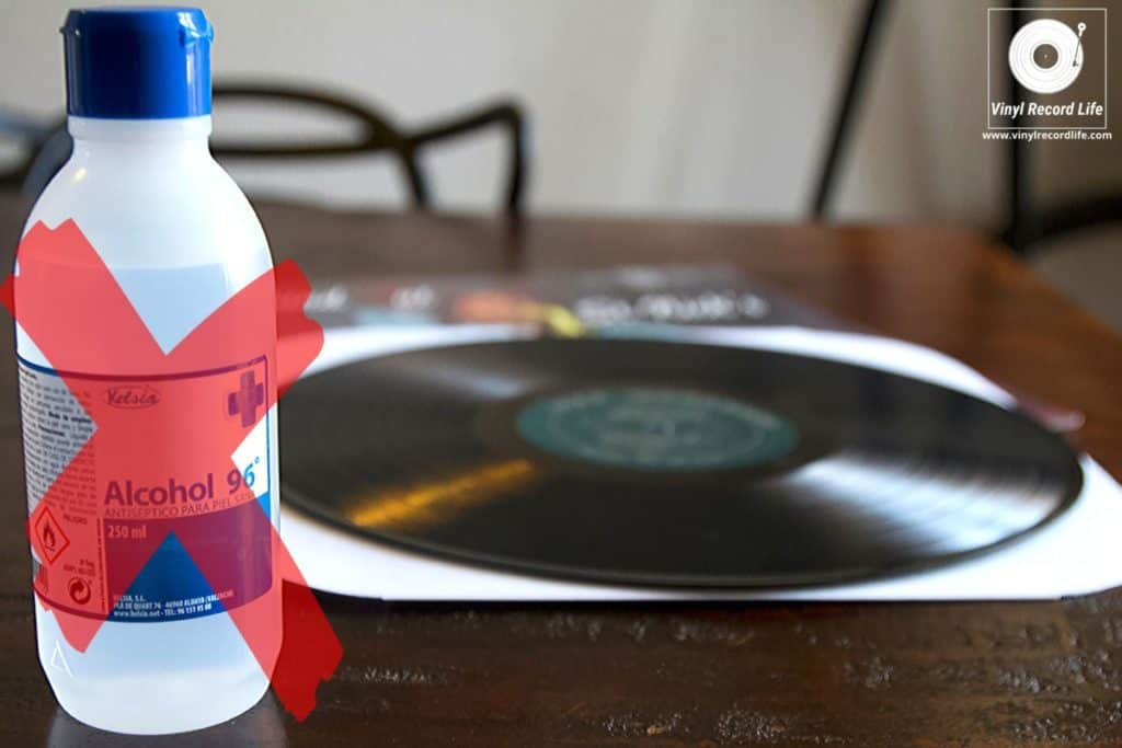 Cleaning Vinyl Records With Alcohol Is